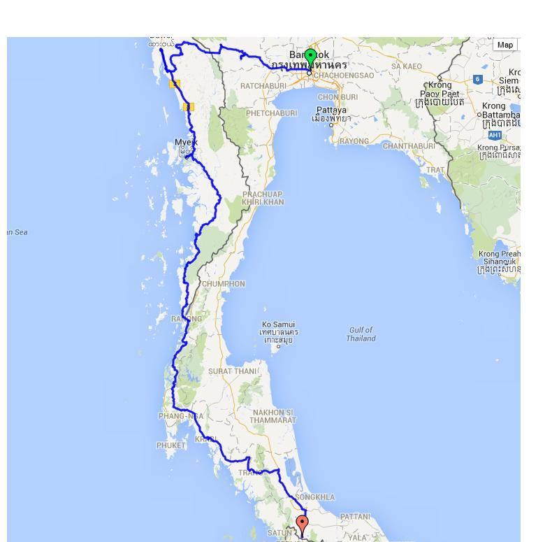 Ruta Mijanmar